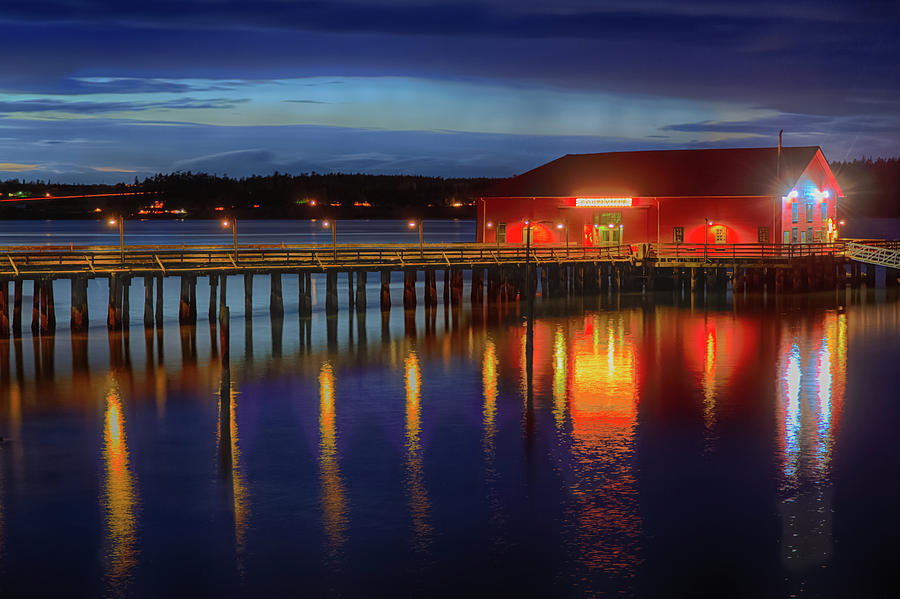 Coupeville Wharf IV by Briand Sanderson