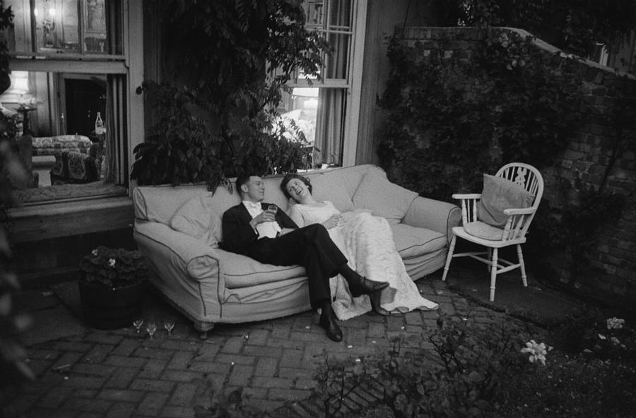 Couple At Party Photograph by Thurston Hopkins