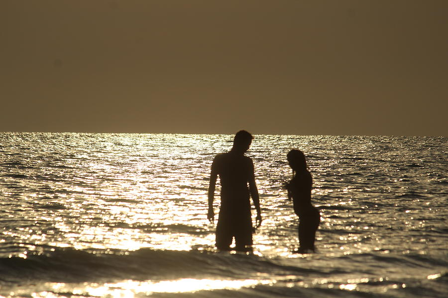 Couple on the Beach by Callen Harty