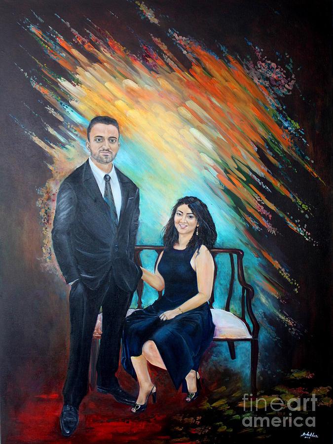 Couple Portaint ONe by Farzali Babekhan