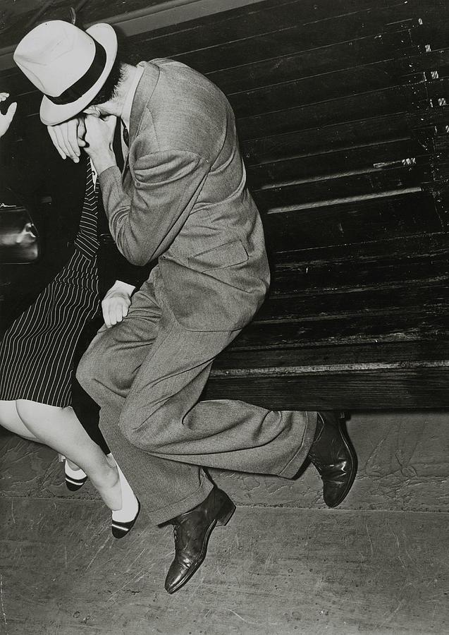 Couples, Romance, Pic Circa 1940, A Man Photograph by Popperfoto