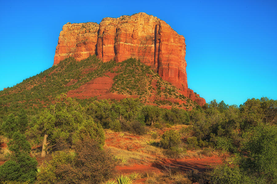 Sedona Photograph - Courthouse Butte by Fernando Margolles