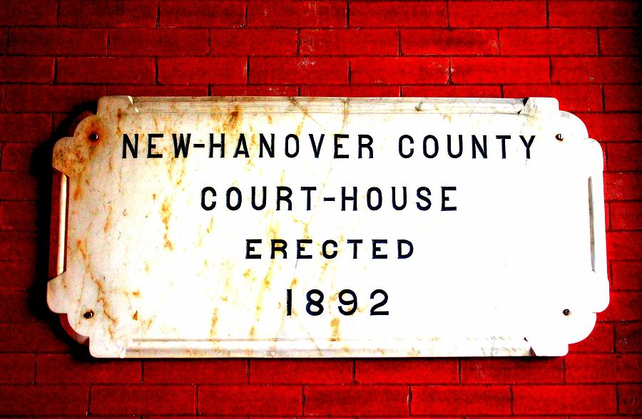 Sign Photograph - Courthouse Sign  by Cynthia Guinn