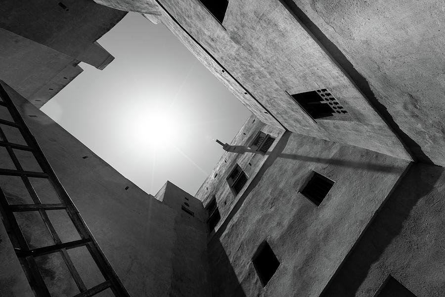 Courtyard In A Middle Eastern Fort Photograph