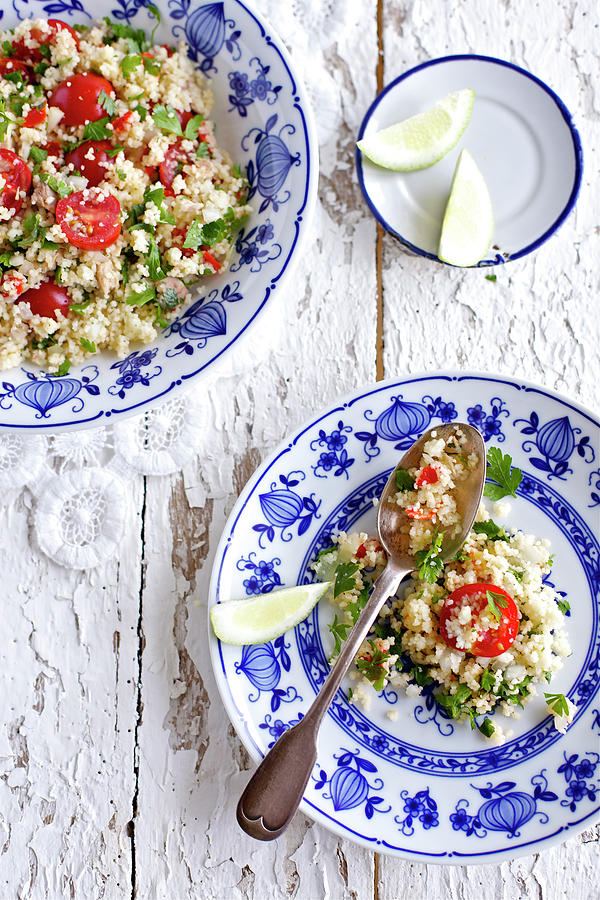 Couscous Salad Photograph by Ingwervanille