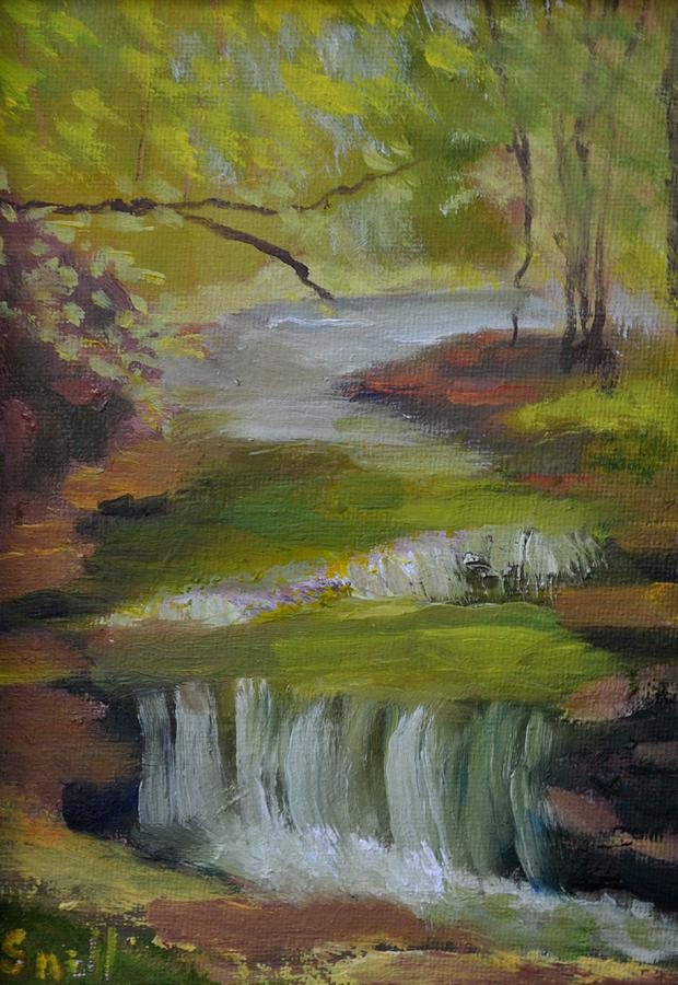 Landscape Painting - Cove Springs by Roger Snell