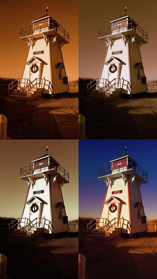 Covehead Lighthouse Digital Art