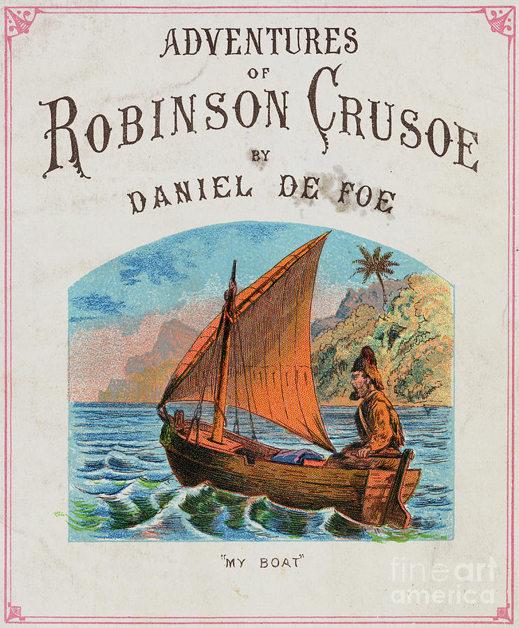 Cover For Adventures Of Robinson Crusoe Photograph by Bettmann