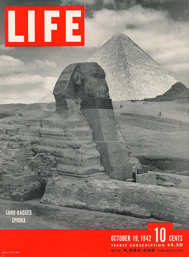 Cover Of Life Magazine Dated 10-19-1942 Photograph by Bob Landry