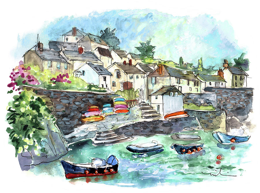 Coverack On Lizard Peninsula 06 by Miki De Goodaboom