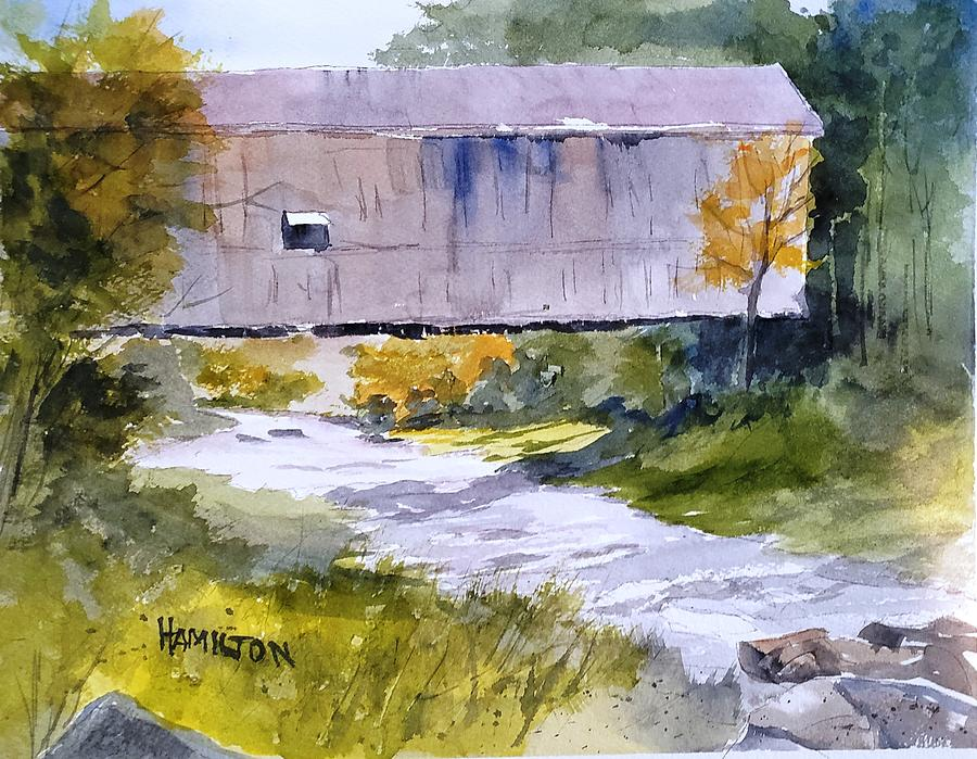 Covered Bridge by Larry Hamilton