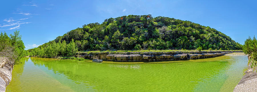 Cow Creek Panorama by Greg Reed