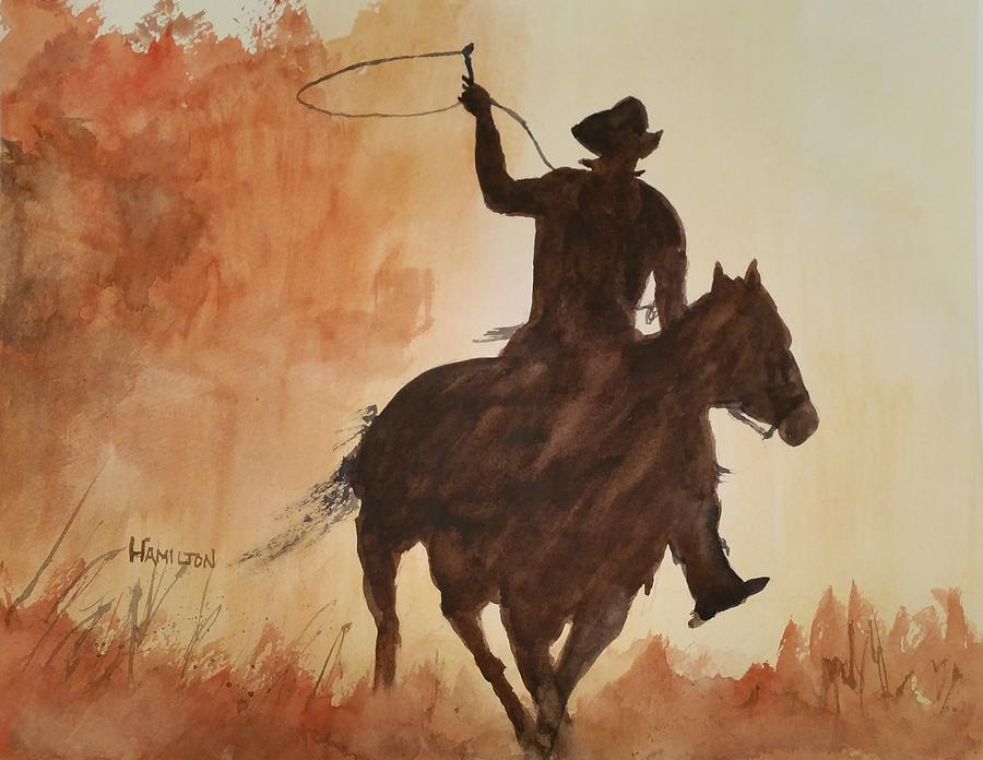 Cowboy Hero by Larry Hamilton