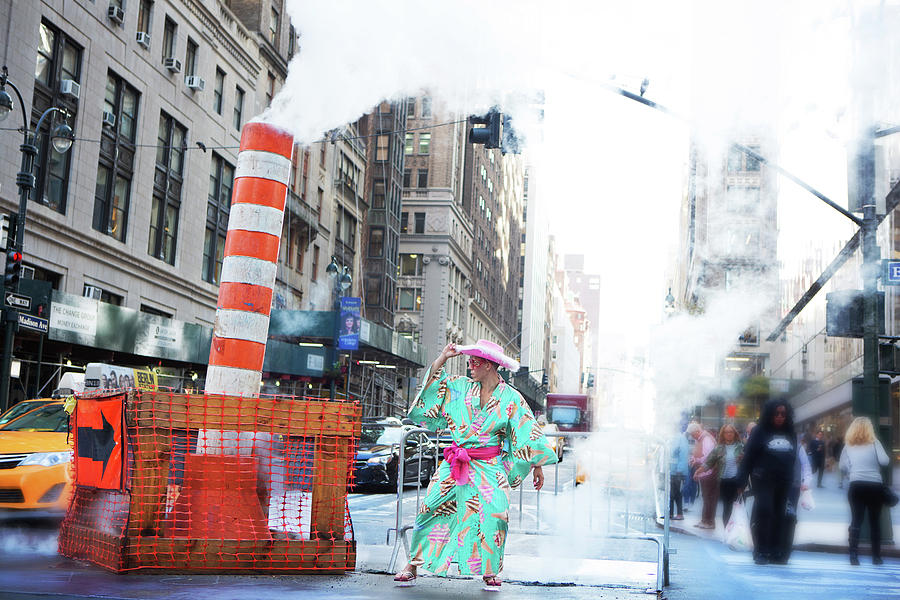 New York City Photograph - Cowboy In The City by Angie Gonzalez