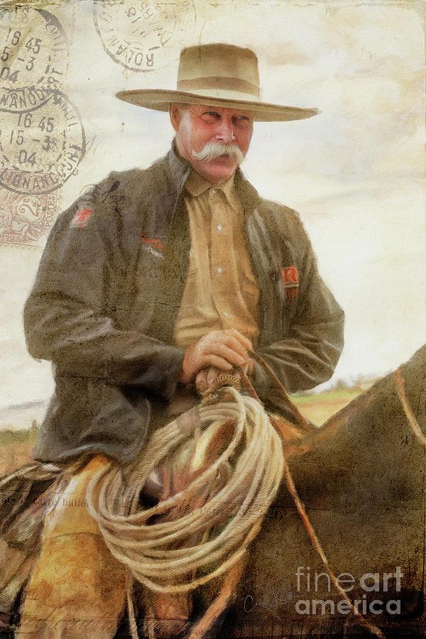 Cowboy...Tim Christopher by Craig J Satterlee