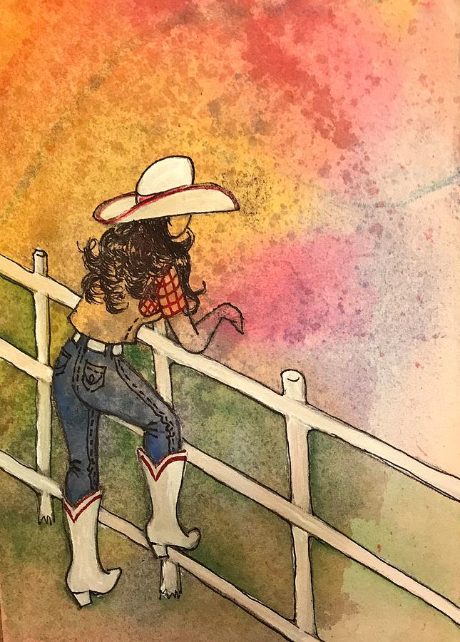 Cowgirl Dreaming by Marilyn Jacobson