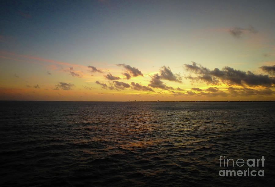 Cozumel Sunrise by Judy Hall-Folde