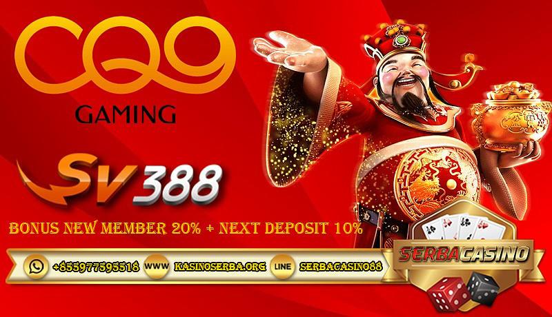 Cq9 Judi Slot Mesin Terbaik Indonesia Mixed Media By Serba Casino