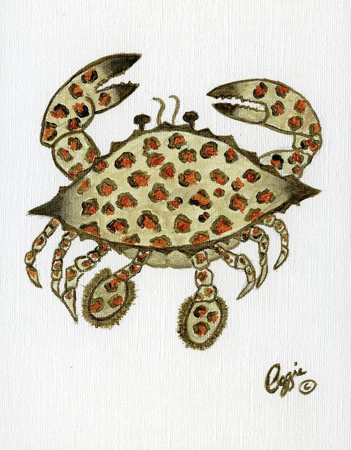 Crab Animal Print by Stephanie Agliano