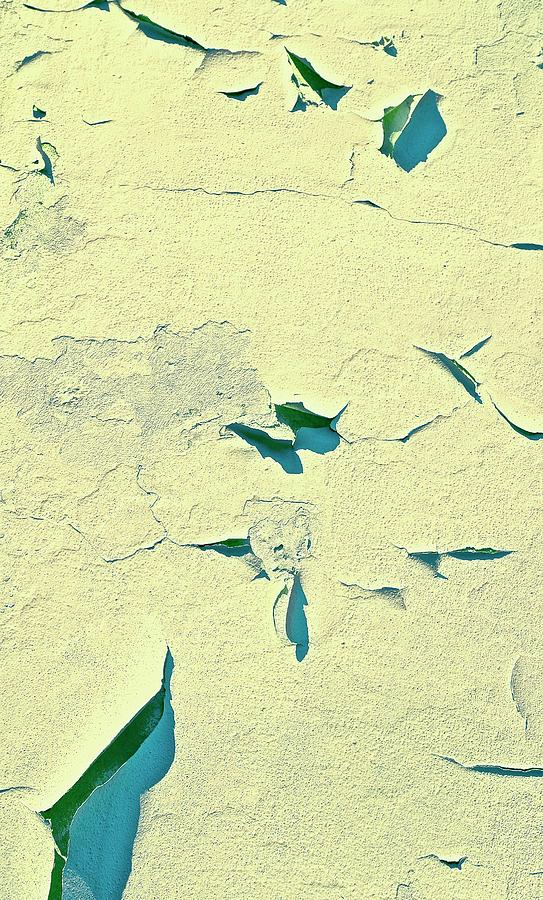 Abstract Photograph - Cracked Wall by Gillis Cone