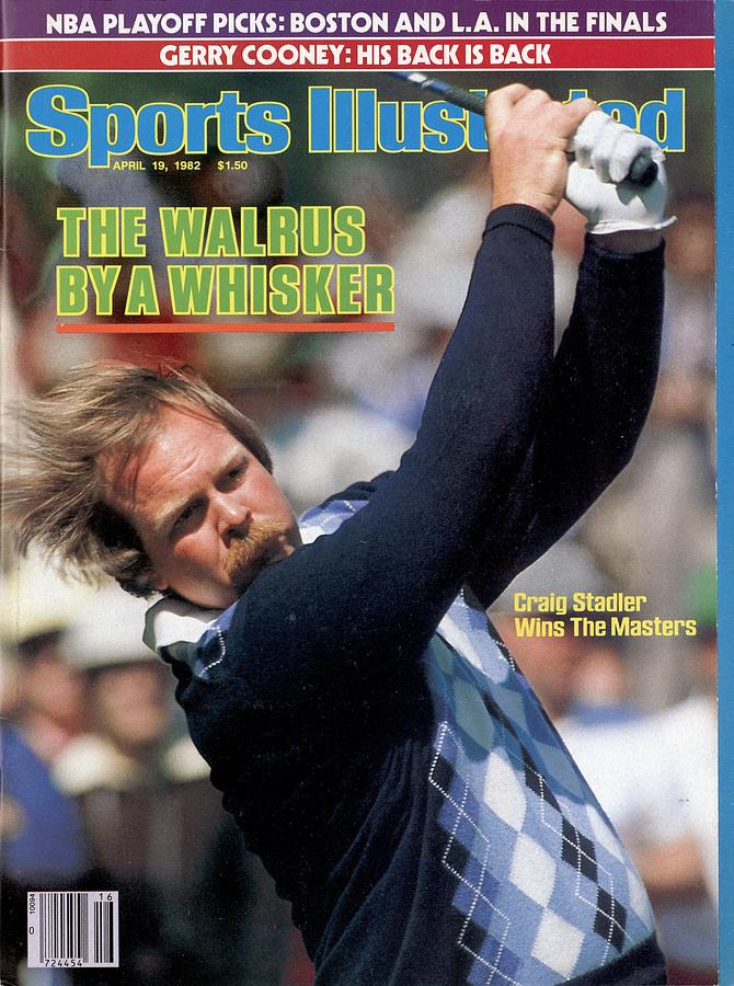 Craig Stadler, 1982 Masters Sports Illustrated Cover Photograph by Sports Illustrated