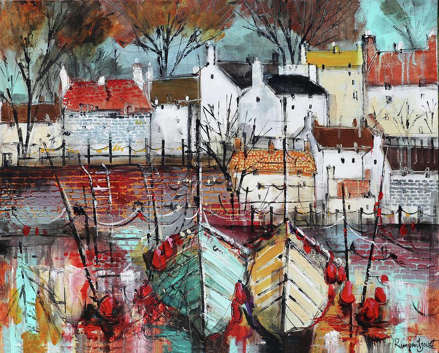 Crail Harbour, Fife, Scotland C01N02 by Irina Rumyantseva