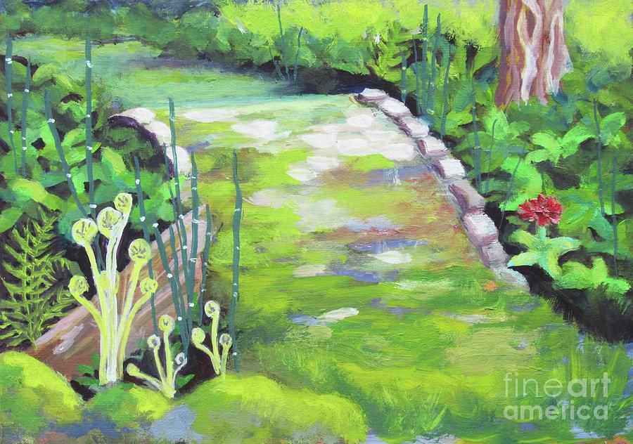 Cram Gardens Ferns by Anne Marie Brown