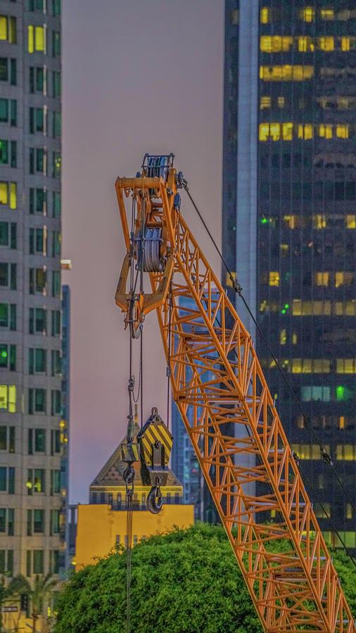 crane in a skyhigh dig by Kenneth James