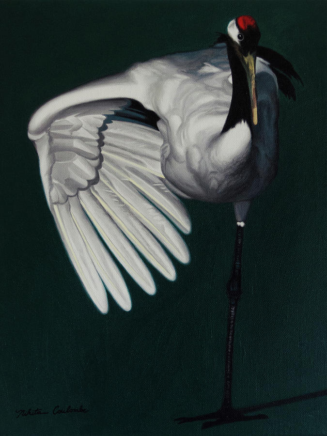 Crane by Nikita Coulombe