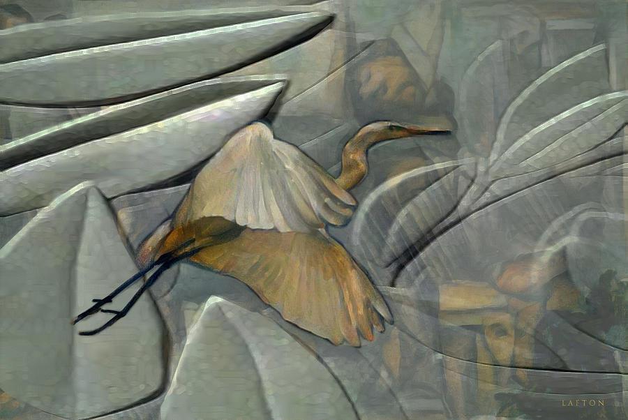 Crane by Richard Laeton