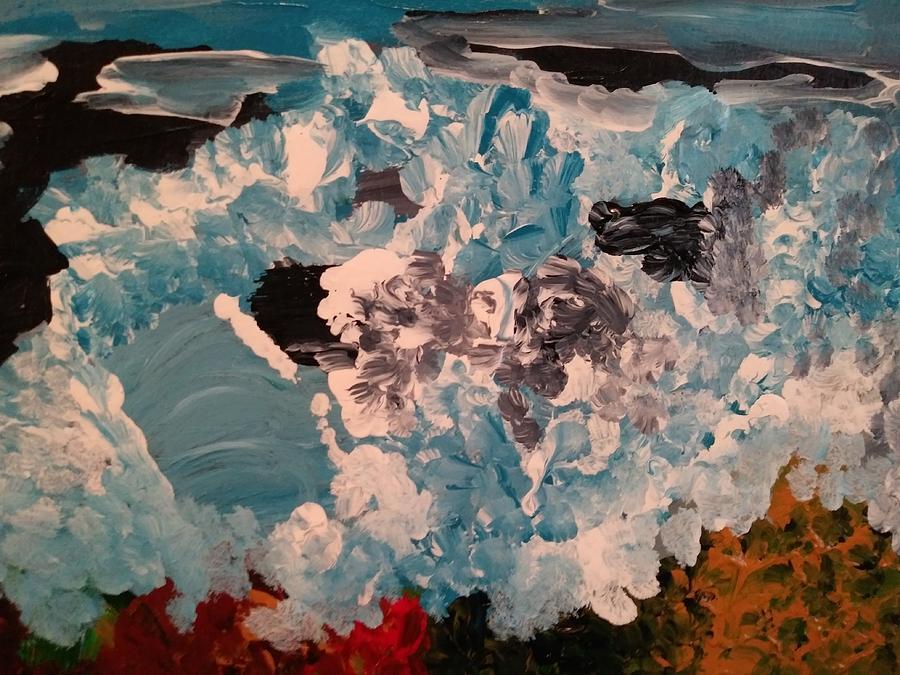 Crashing Waves by Tina Marie Gill
