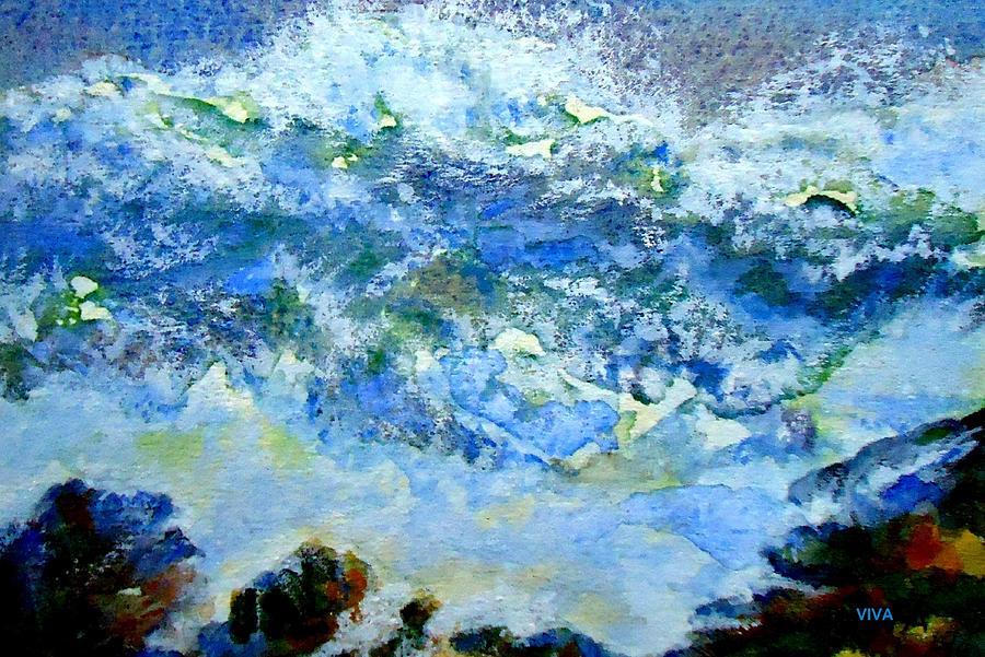 Crashing Waves by VIVA Anderson