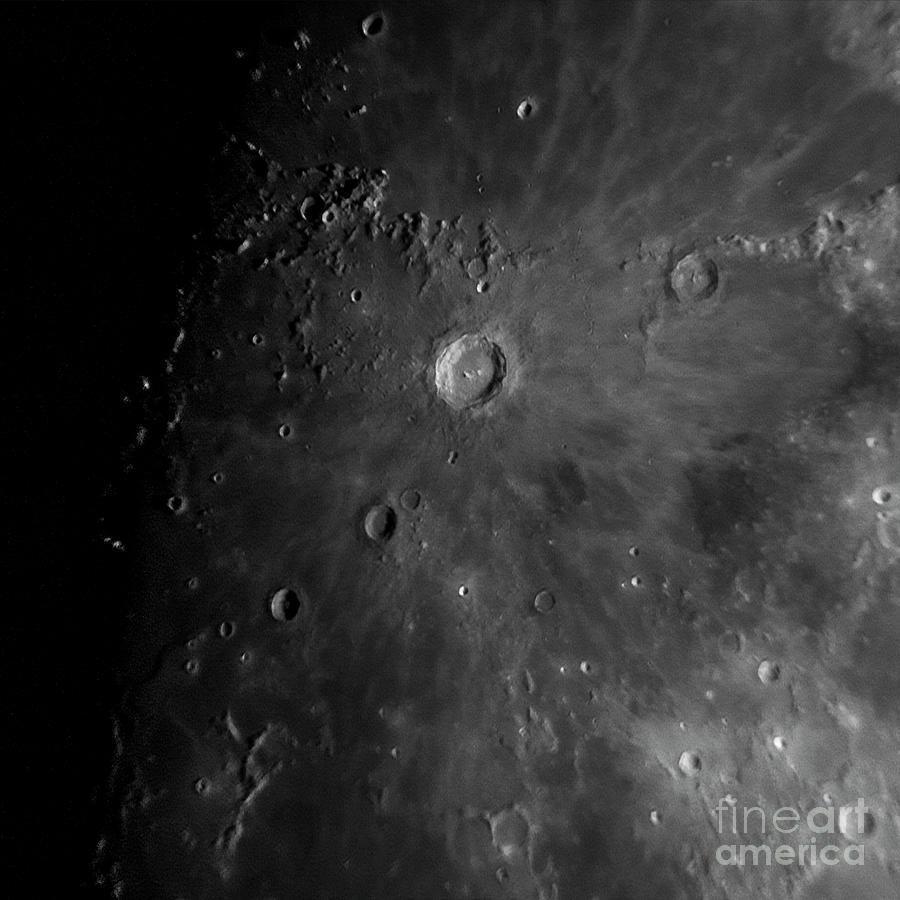 Crater Copernicus by James Guilford