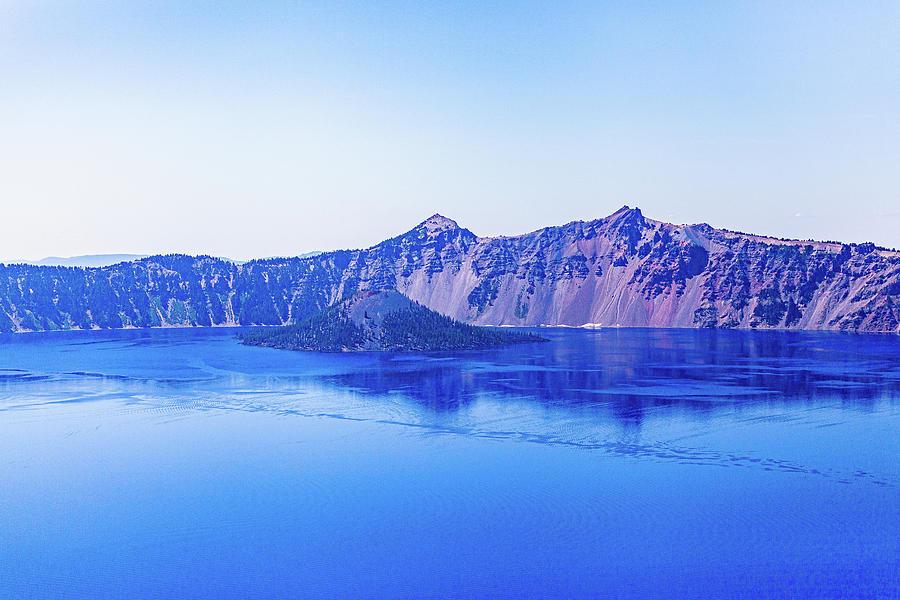Blue Photograph - Crater Lake #4 by John Heywood