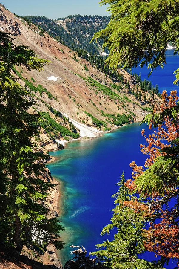 Crater Lake I Photograph by Daniel Cummins