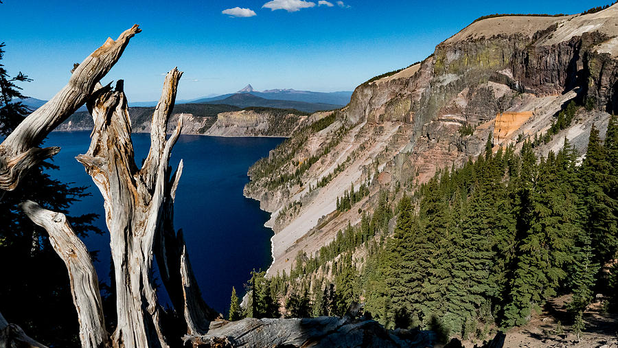 Crater Lake, Oregon Photograph by Mark Miller