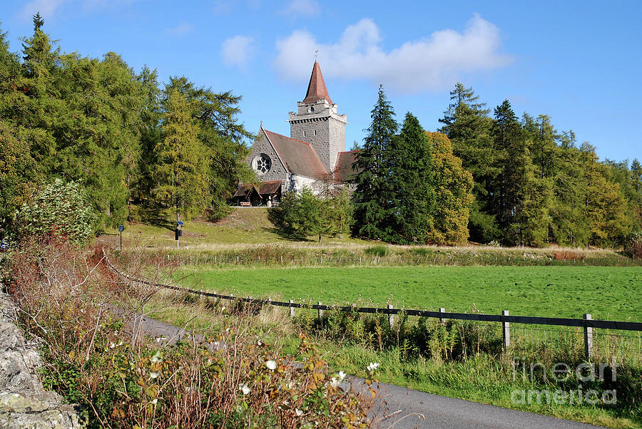 Crathie Kirk - Early Autumn by Phil Banks