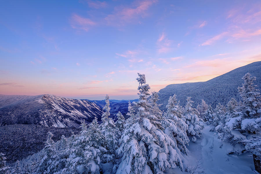 Crawford Notch Winter View. by Jeff Sinon