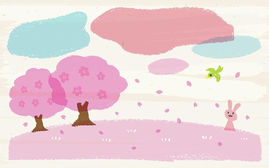 Crayon Spring Digital Art by Taichi k
