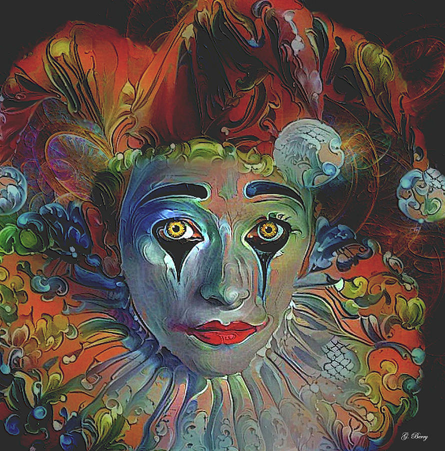 CRAZY FOR CLOWNS by G Berry