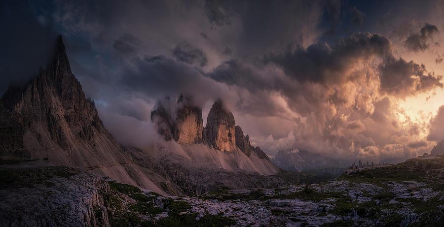 Crazy Sky Photograph by Carlos F. Turienzo
