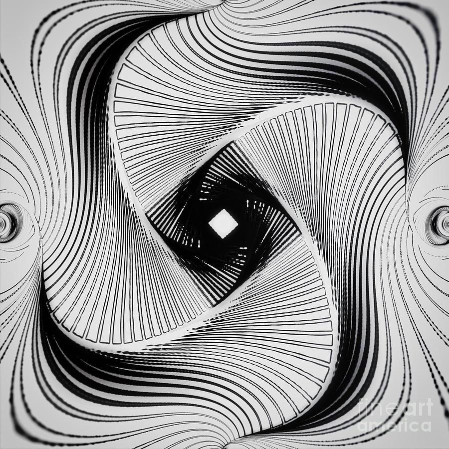 Crazy Spin  Verrueckte Drehung B by Eva-Maria Di Bella