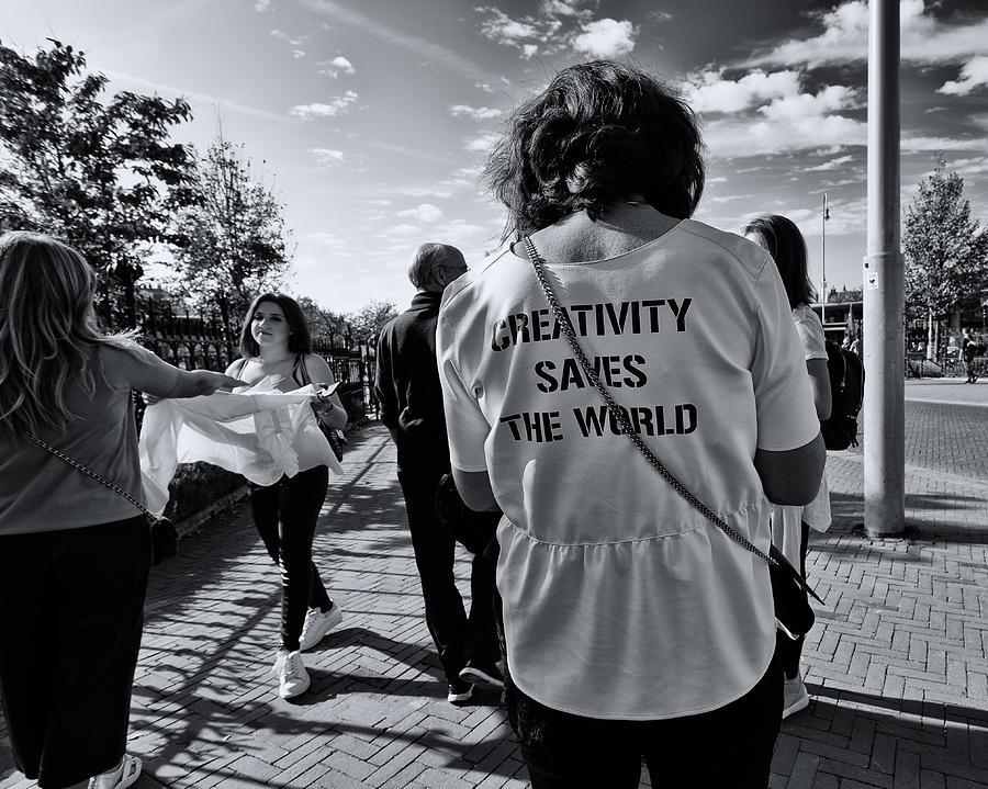 Creativity Saves the World by Lauri Novak