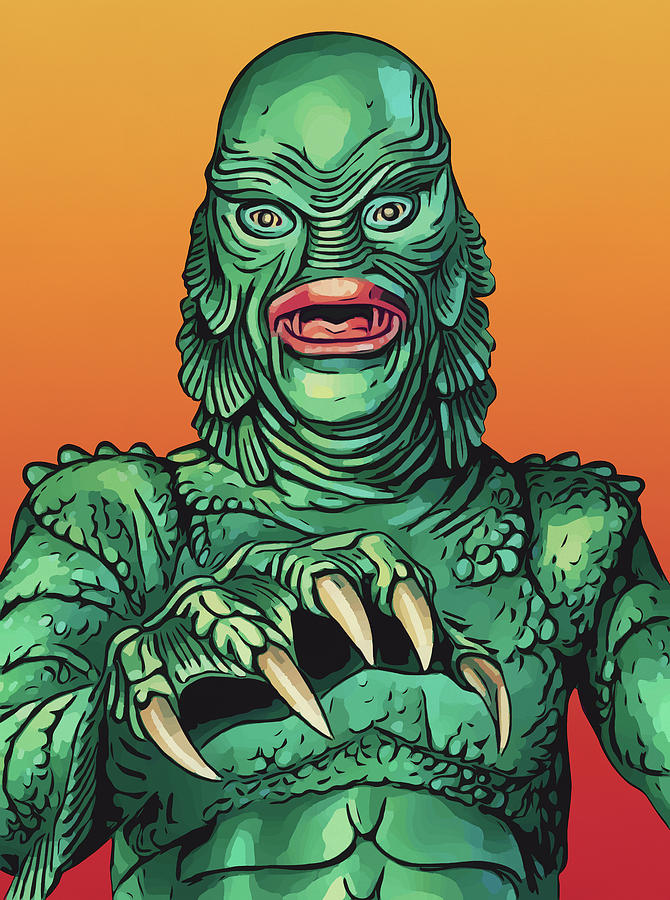 Creature from the Black Lagoon by Zapista Zapista