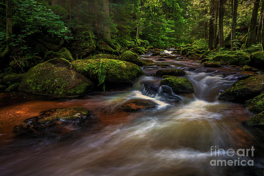 Creek of Colours by Jim Hatch