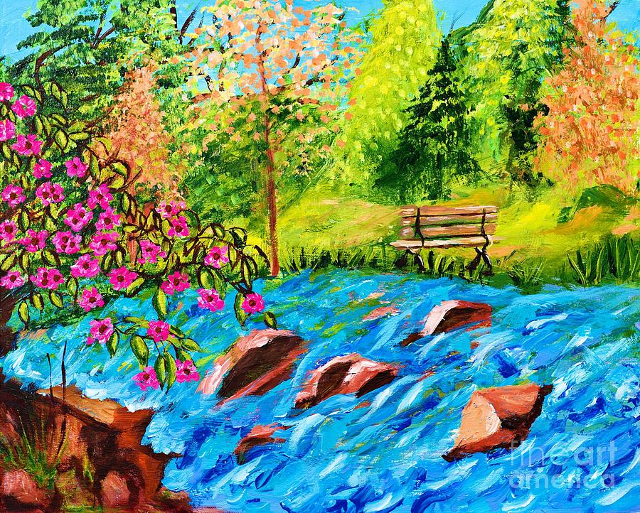 Creekside Beauty by Art by Danielle
