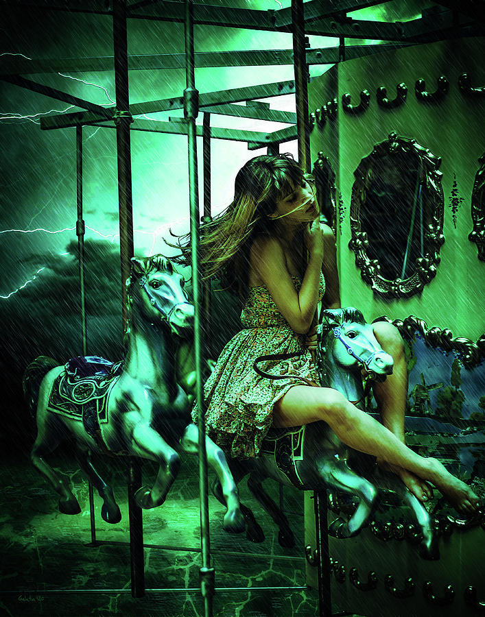 Creepy Carousel by Galatia420