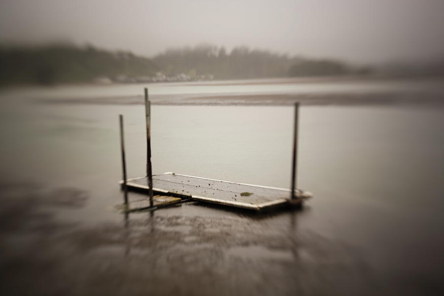 Creepy Dock Photograph by Jeffstrauss