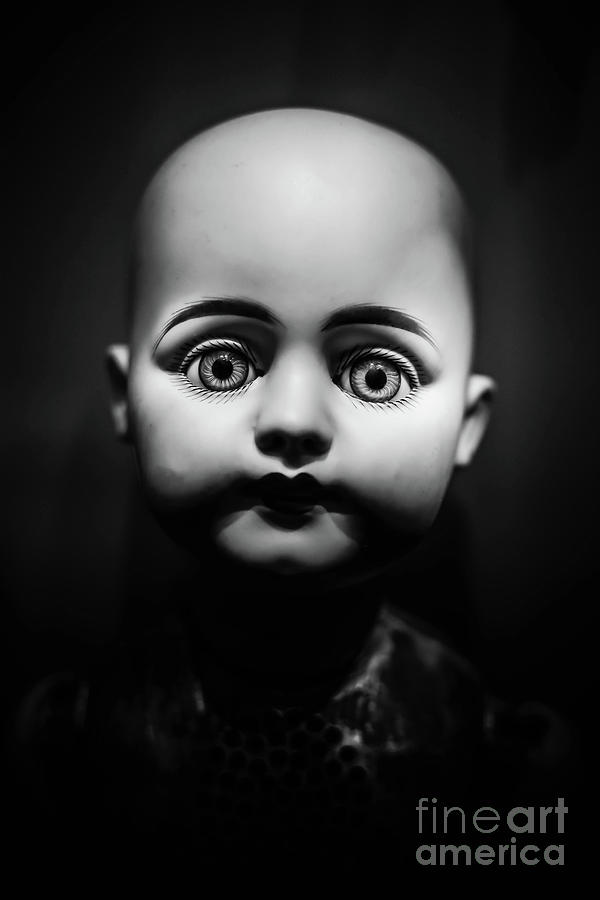 Doll Photograph - Creepy Toy Doll by Edward Fielding