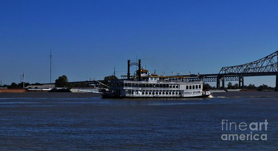 Creole Queen Paddle Boat by Marcia Lee Jones